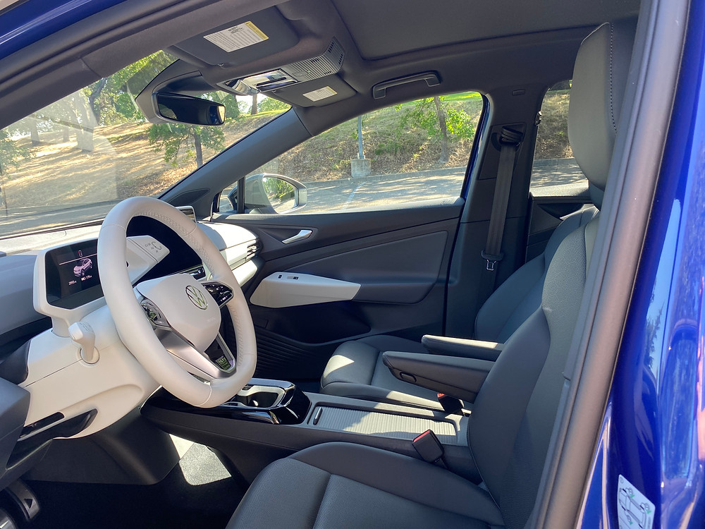 2021 Volkswagen ID.4 1st Edition front seats