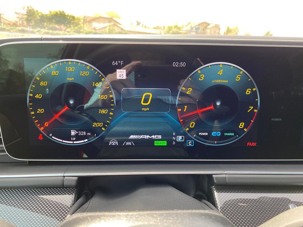 2021 Mercedes-AMG GLE 63 S gauge cluster