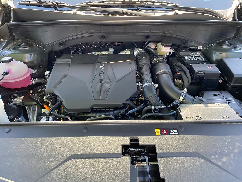 2021 Kia Sorento X-Line AWD engine