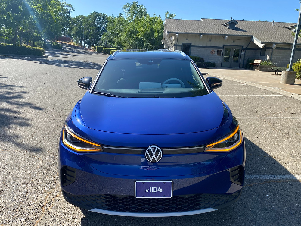 2021 Volkswagen ID.4 1st Edition front view