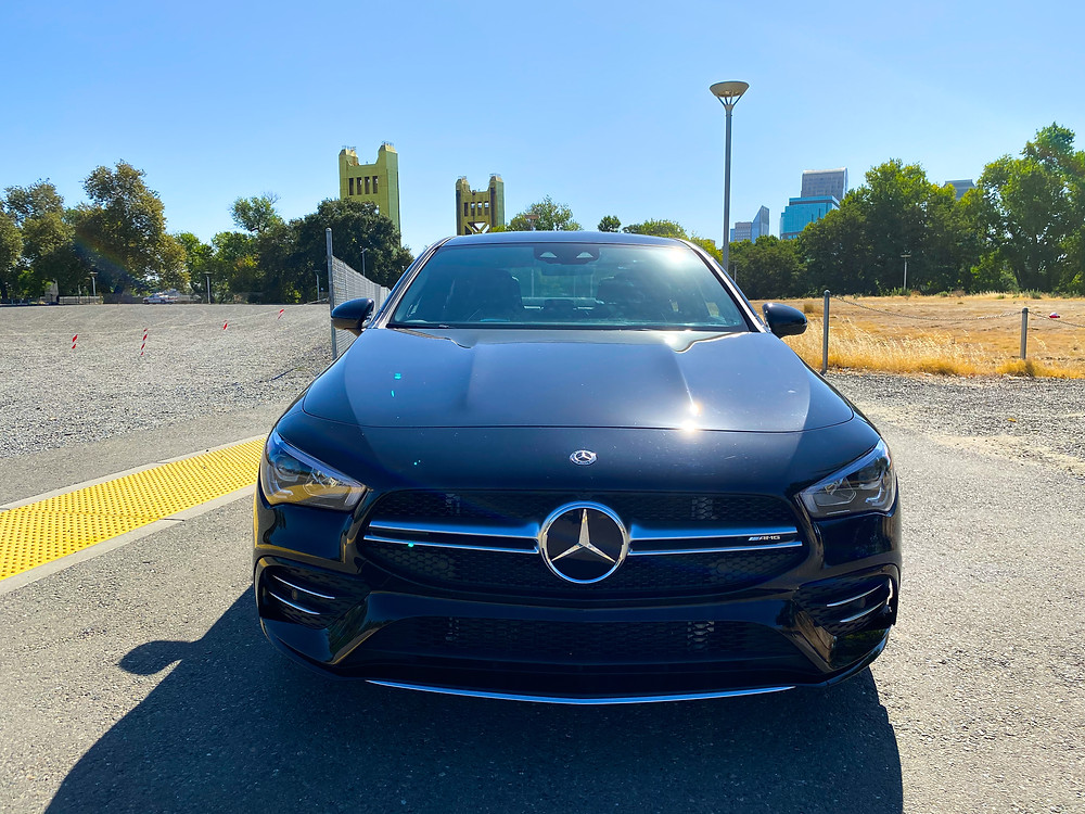 2020 Mercedes-Benz AMG CLA35 4MATIC front view