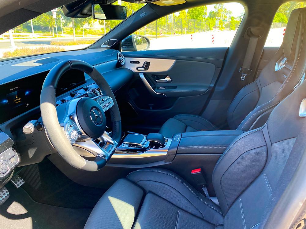 2020 Mercedes-Benz AMG CLA 35 4MATIC front seats