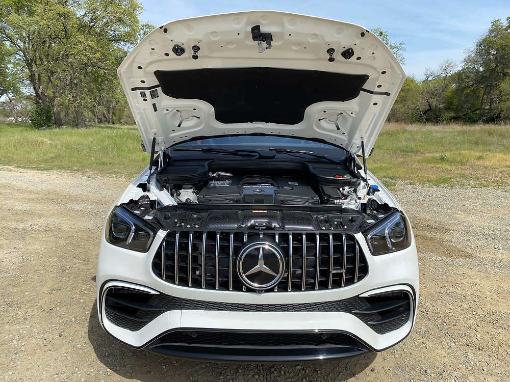2021 Mercedes-AMG GLE 63 S Coupe hood up