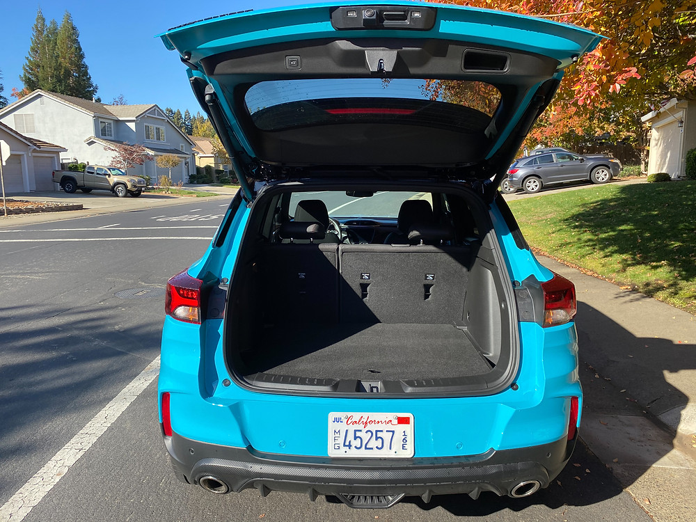 2021 Chevrolet Trailblazer AWD RS rear liftgate open