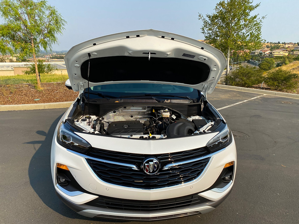 2020 Buick Encore GX hood up