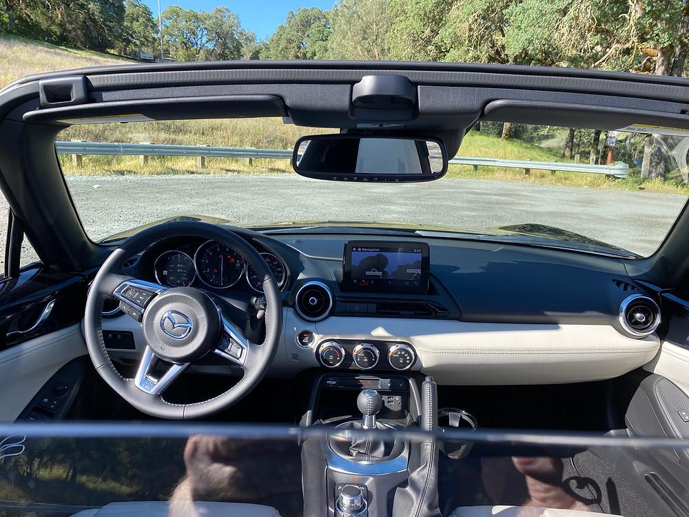 2021 Mazda MX-5 Miata RF Grand Touring instrument panel