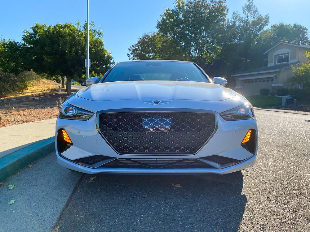 2020 Genesis G70 3.3T Sport front view