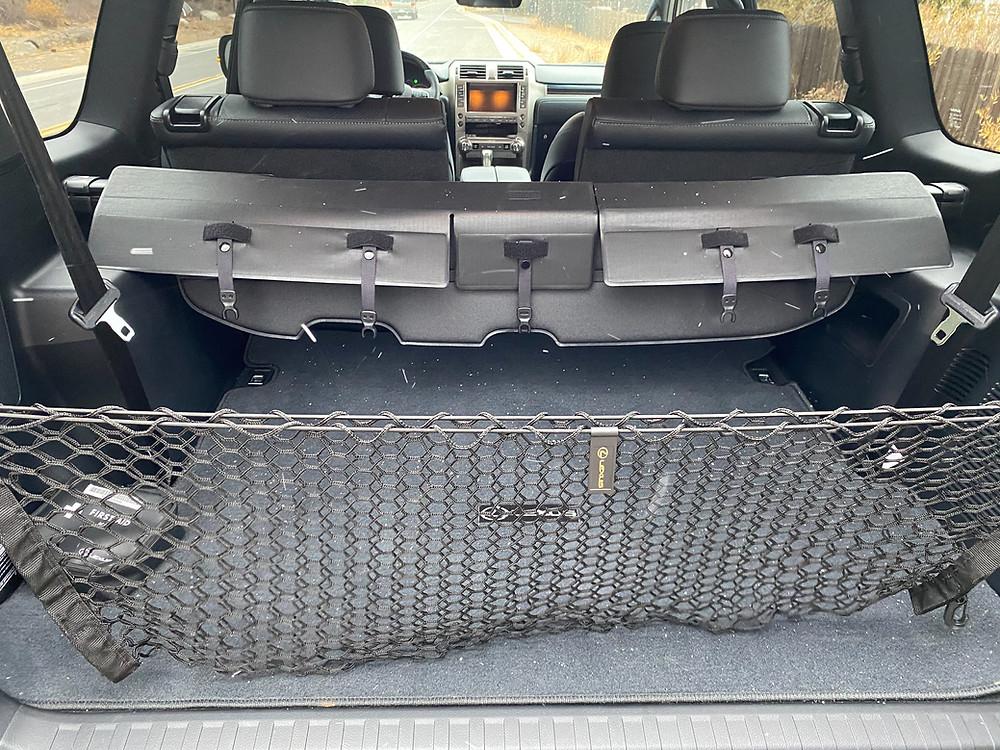 2021 Lexus GX460 cargo area