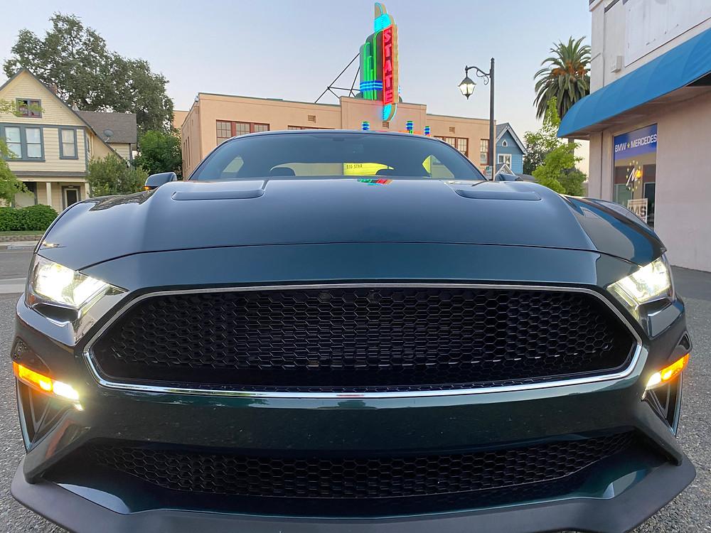 2020 Ford Mustang BULLITT front view