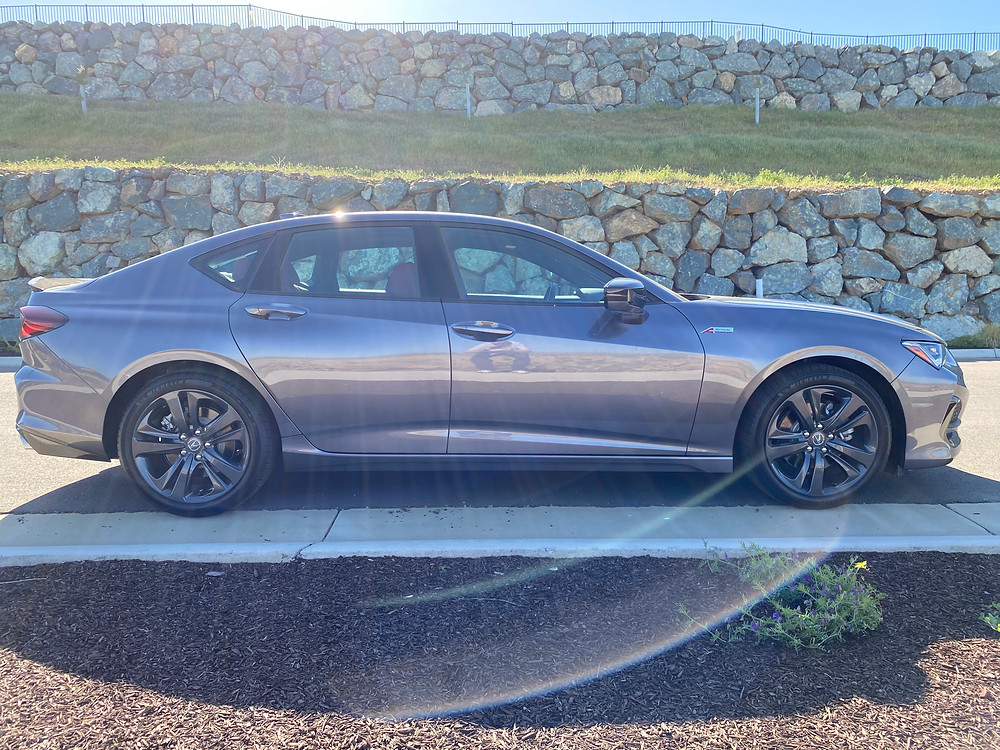 2021 Acura TLX SH-AWD A-Spec side view