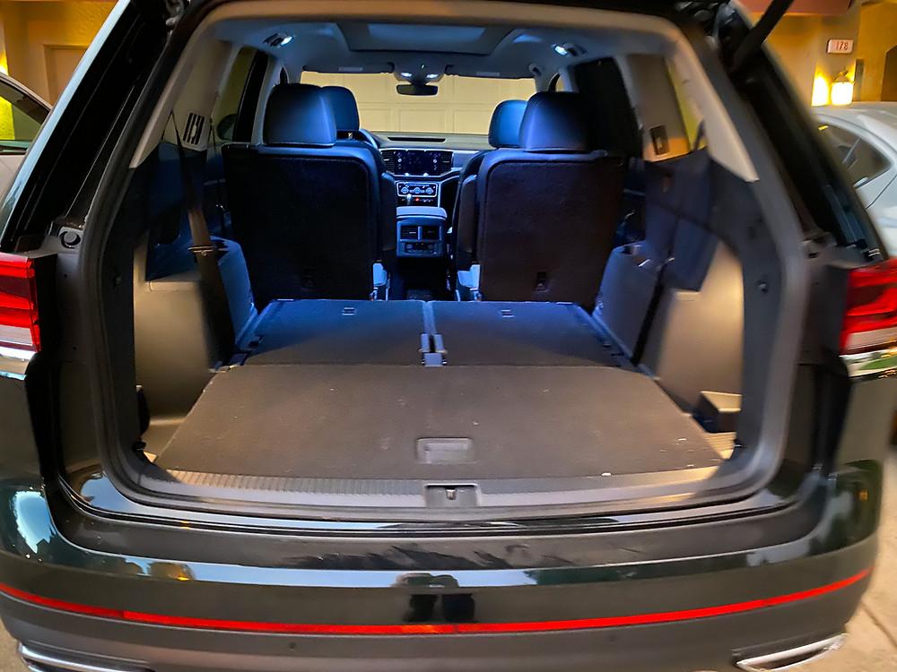 2021 Volkswagen Atlas V6 SEL Premium cargo area