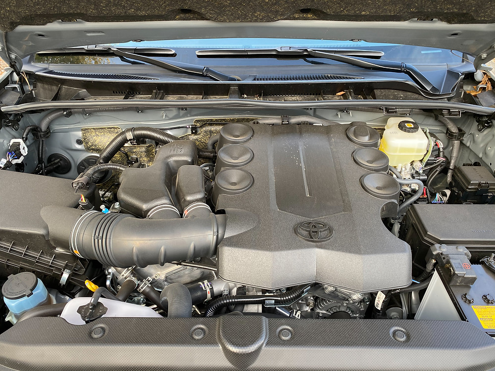 2021 Toyota 4Runner Trail 4x4 engine