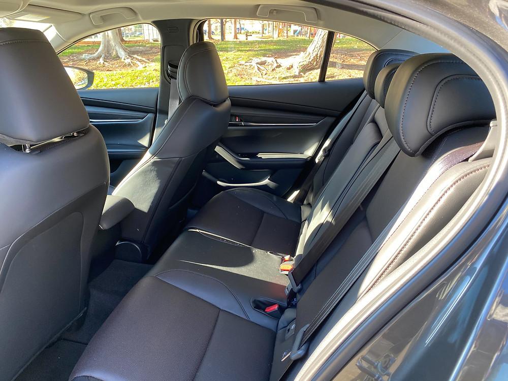 2021 Mazda 3 2.5 Turbo AWD rear seat