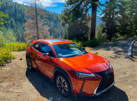 Big MPG From A Small SUV: The 2020 Lexus UX 250h Hybrid