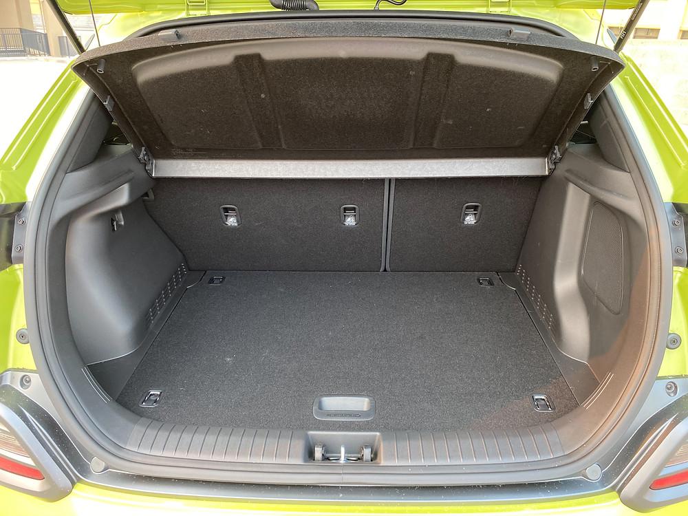 2020 Hyundai Kona Ultimate FWD cargo area