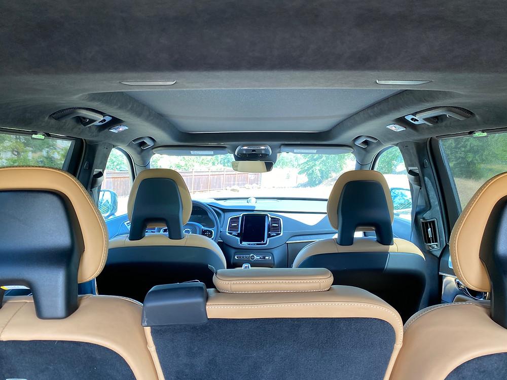2021 Volvo XC90 Recharge T8 Inscription interior