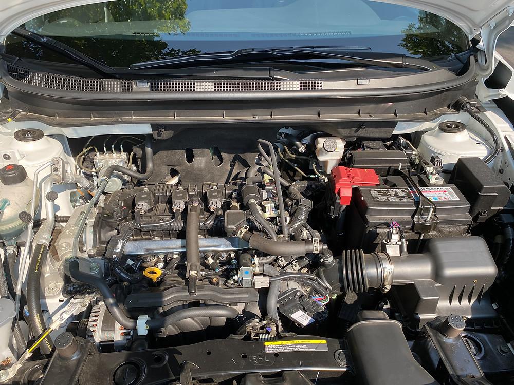 2020 Nissan Kicks SR engine
