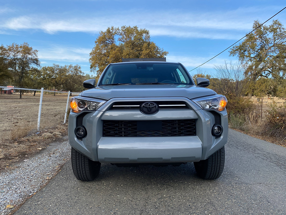 2021 Toyota 4Runner 4x4 Trail front view