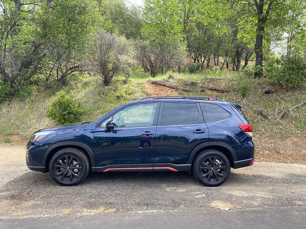 2021 Subaru Forester Sport side view