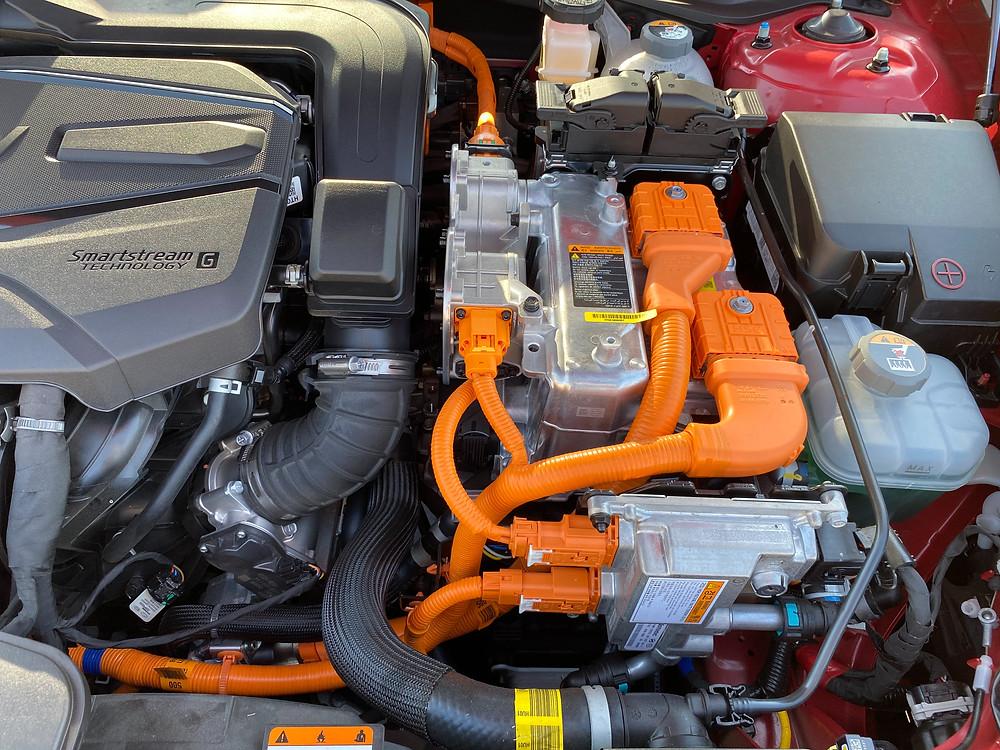 2020 Hyundai Sonata Hybrid Limited powerplant detail