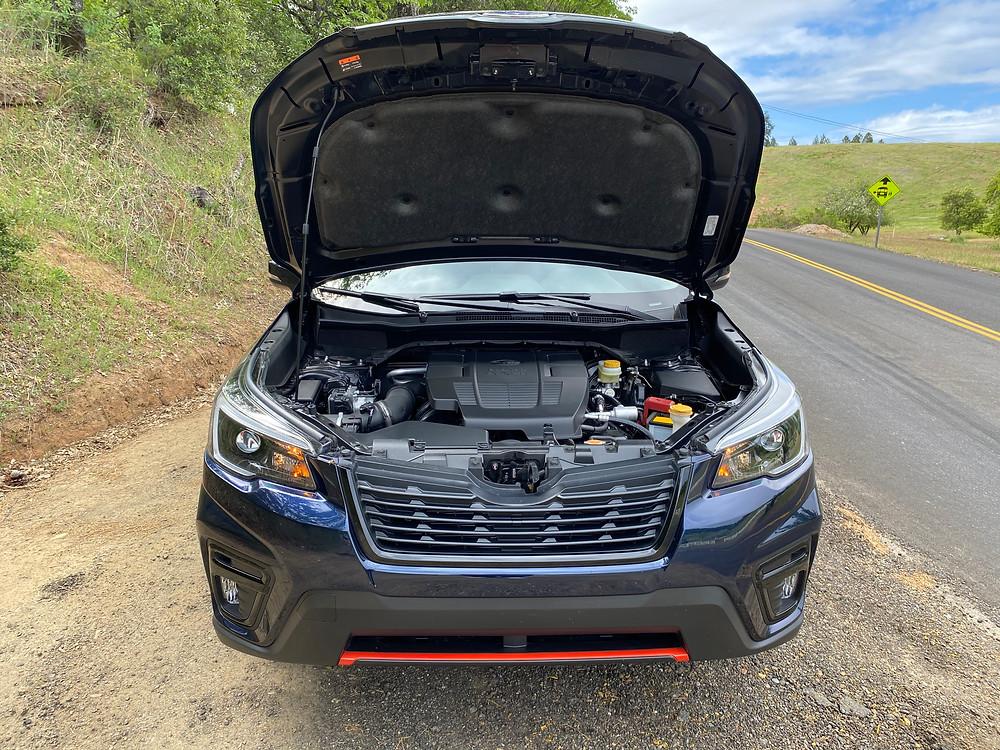 2021 Subaru Forester Sport hood up