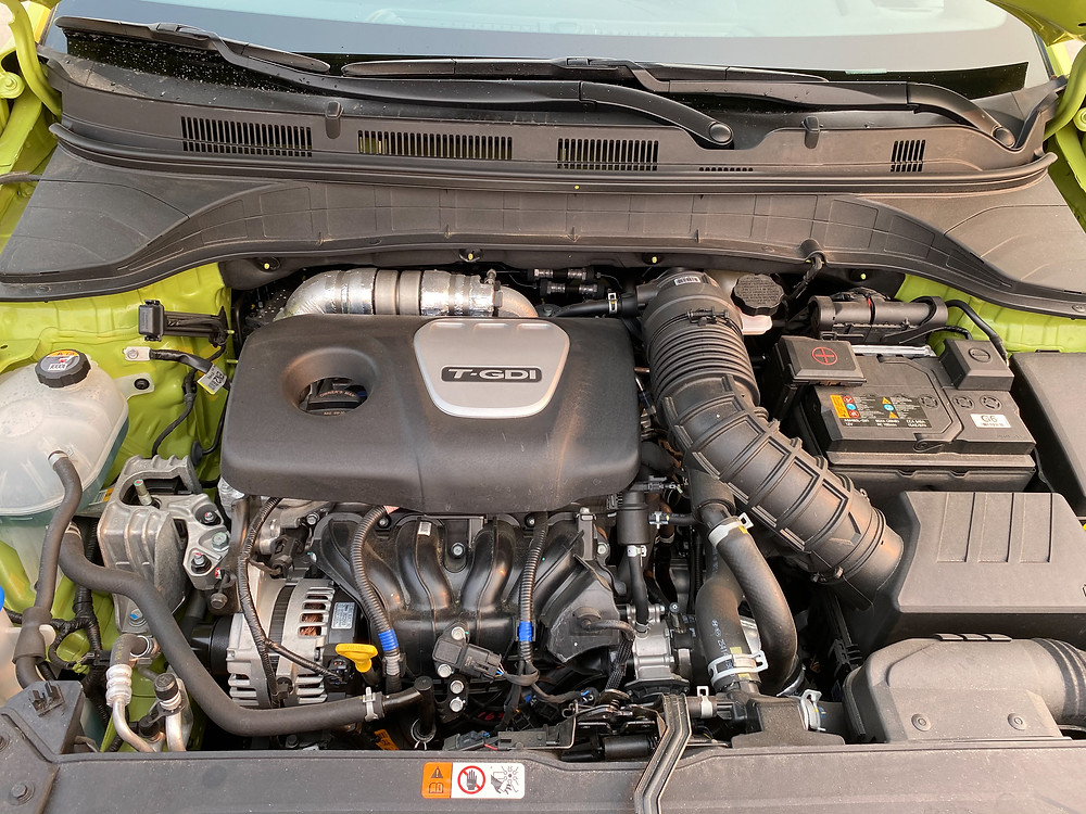 2020 Hyundai Kona Ultimate FWD engine