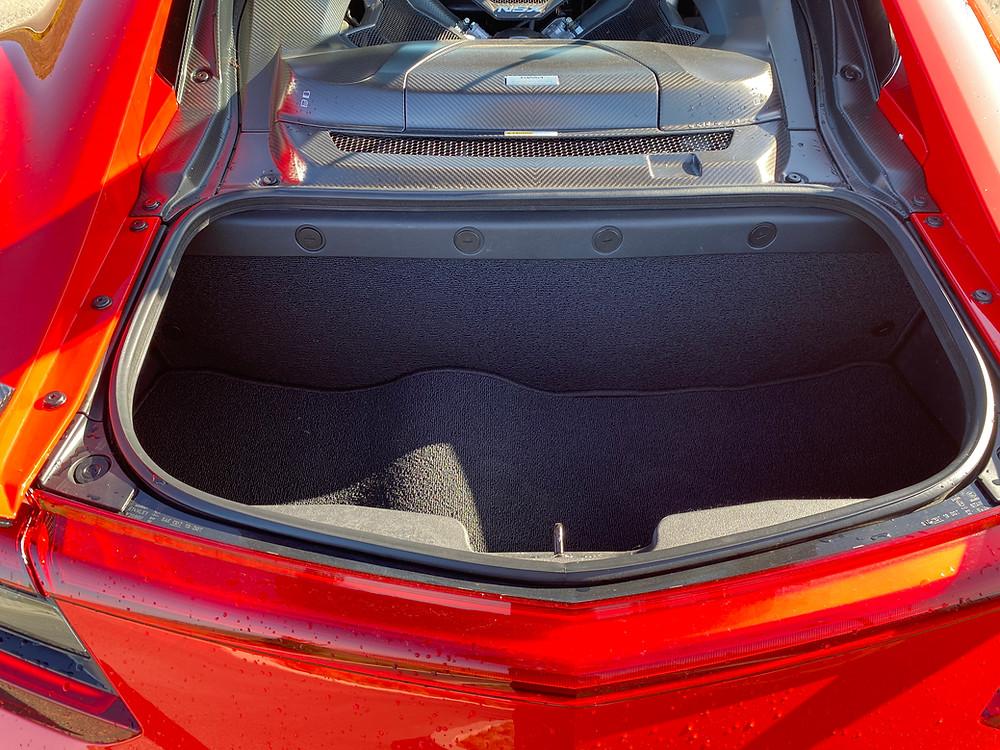 2020 Acura NSX trunk