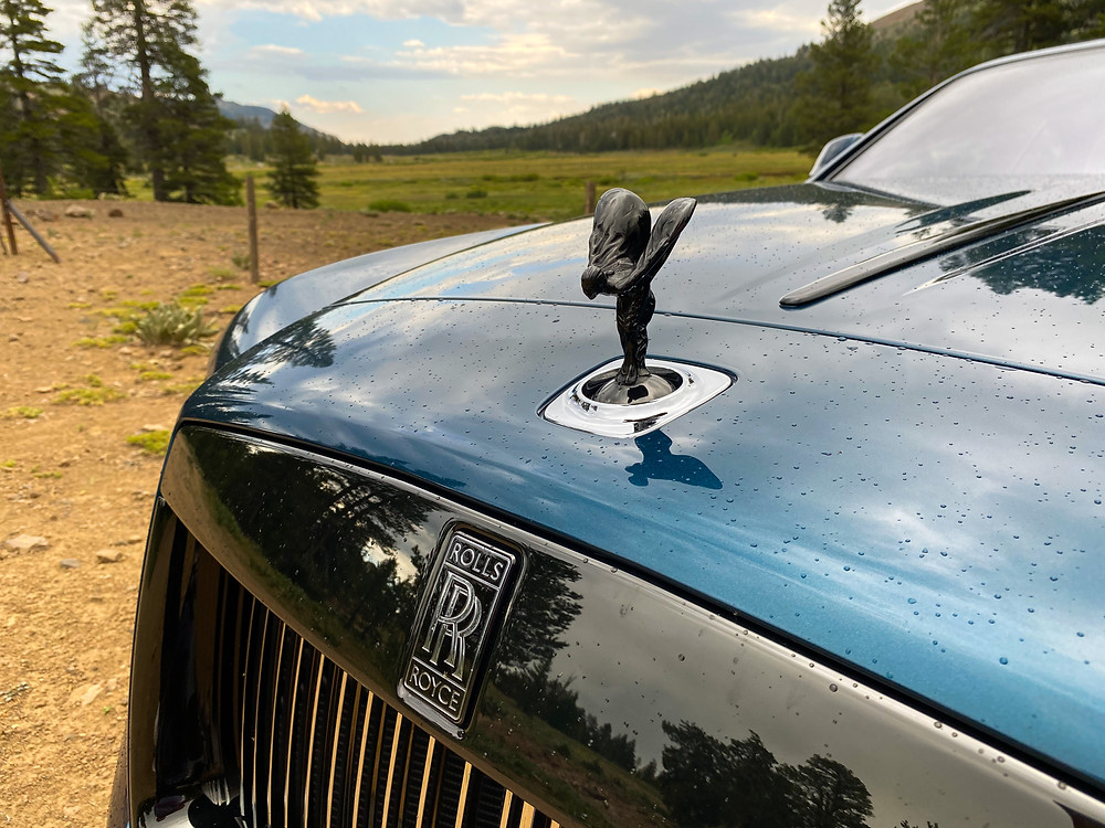 "2020 Rolls-Royce Wraith Black Badge ""Spirit of Ecstasy"""