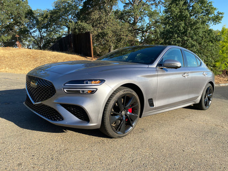 The Torch Has Been Passed: The 2022 Genesis G70 RWD 3.3T Sport Prestige