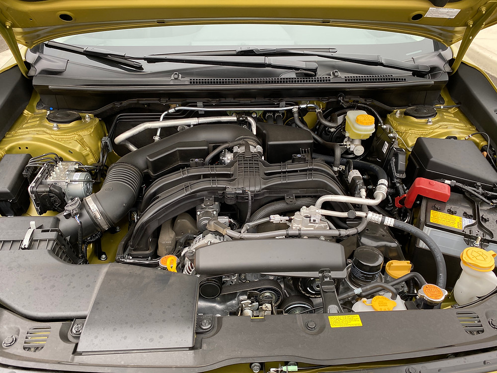 2021 Subaru Crosstrek Sport engine