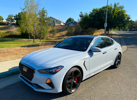 "How You Say ""Muscle Car"" in Korean:  The 2020 Genesis G70 3.3T Sport"