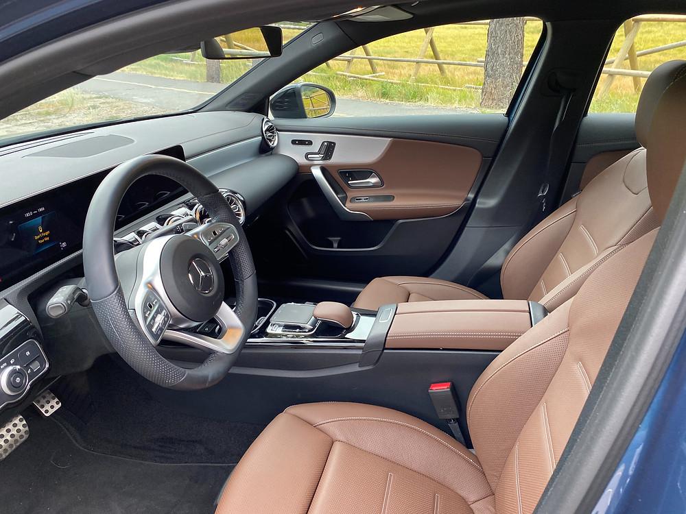 2020 Mercedes-Benz A220 Sedan front seats