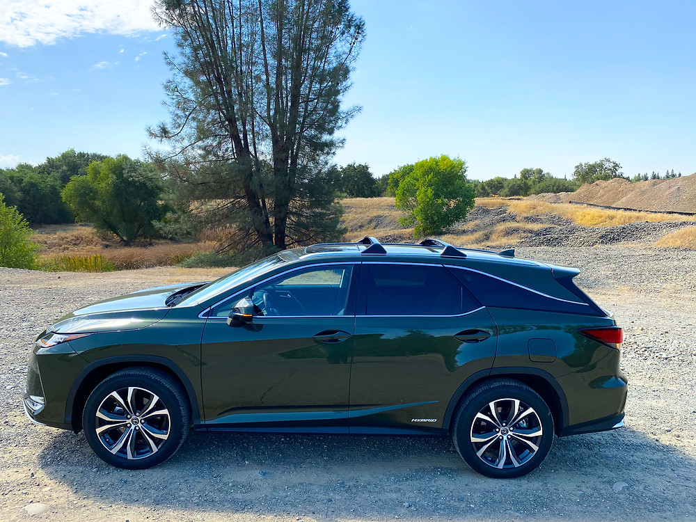 2020 Lexus RX 450hL side view