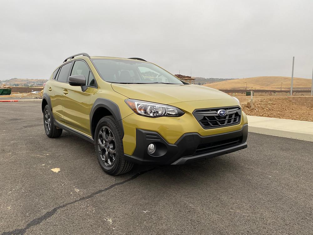 2021 Subaru Crosstrek Sport front 3/4 view