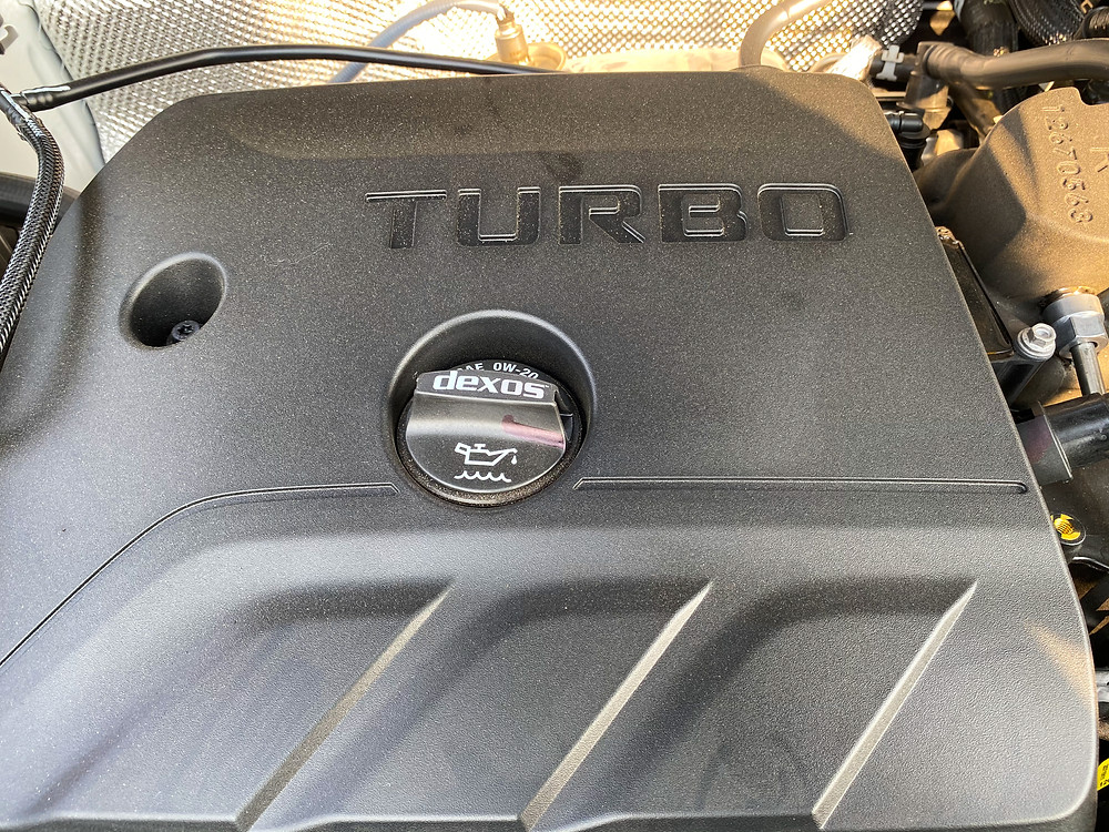 2020 Buick Encore GX engine detail