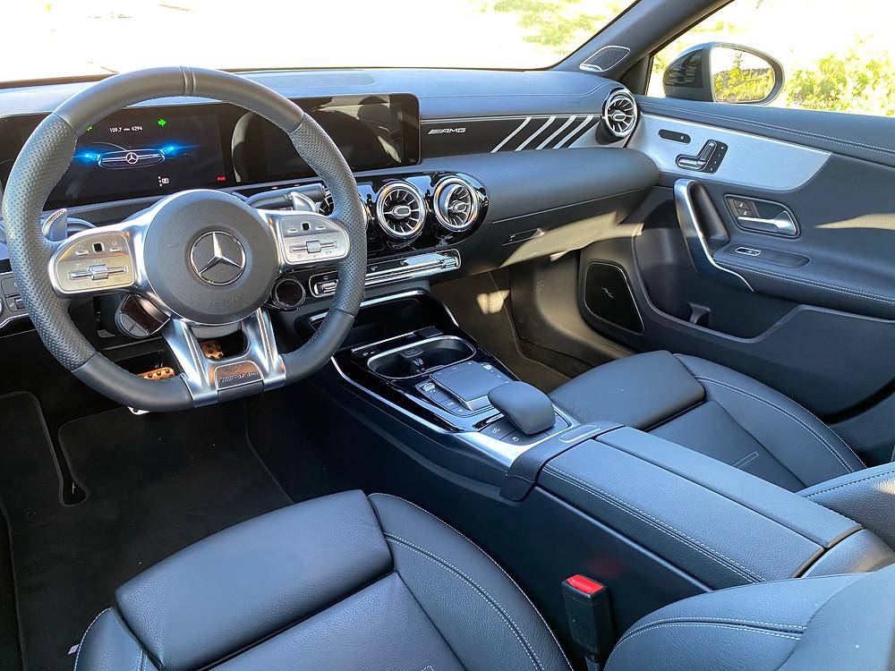 2021 Mercedes-AMG A35 4MATIC instrument panel