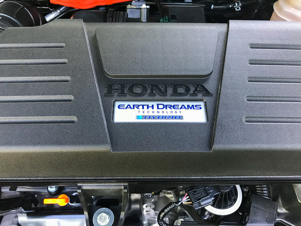2020 Honda CR-V Hybrid Touring powerplant detail
