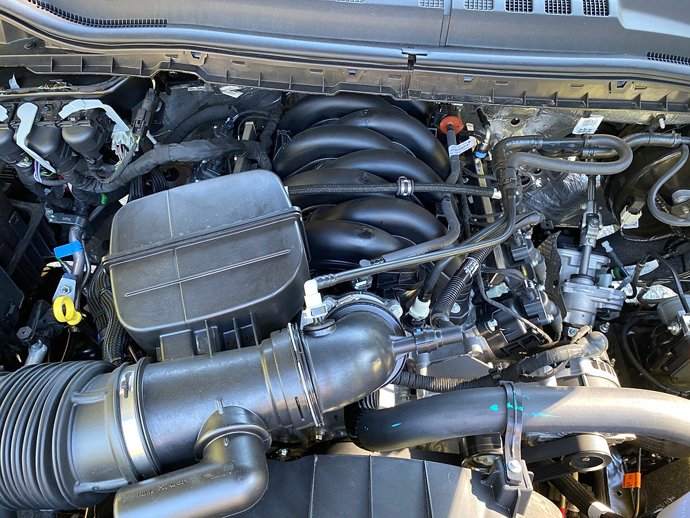 2021 Ford F-250 Tremor engine detail