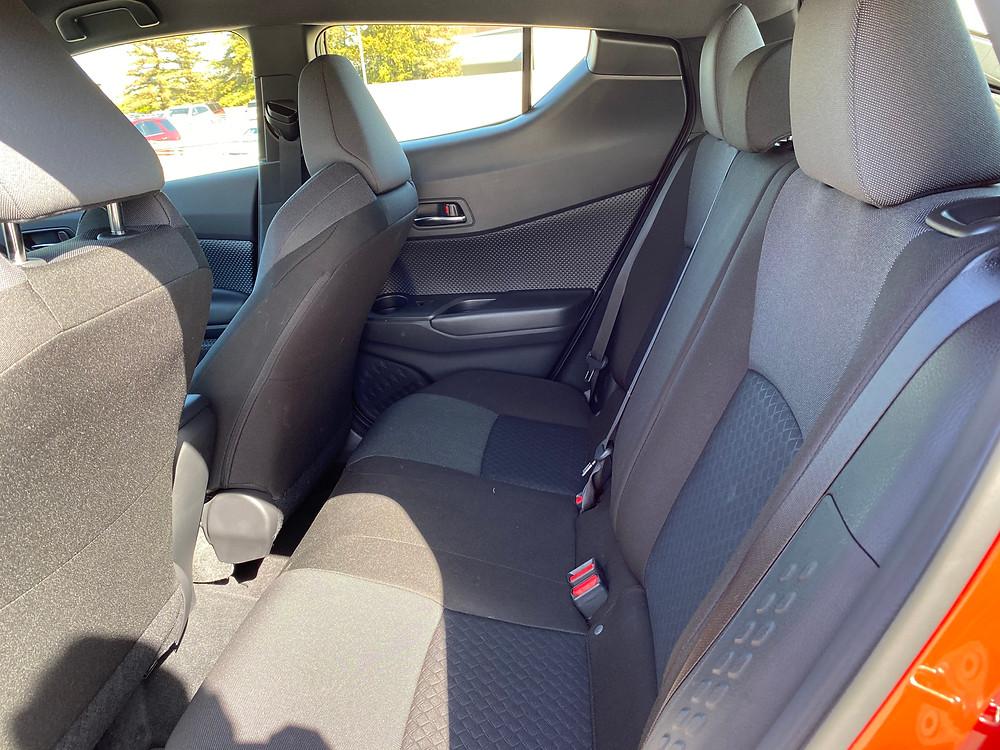 2021 Toyota C-HR Nightshade Edition rear seat