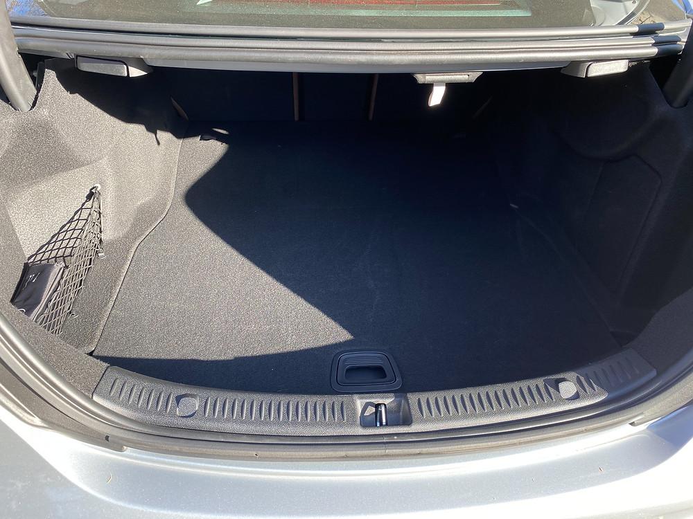 2021 Mercedes-Benz E450 4MATIC Sedan trunk