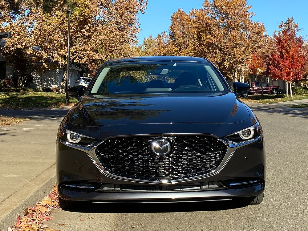 2021 Mazda 3 2.5 Turbo AWD front view