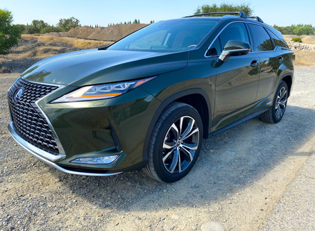 More SUV, More MPG: The 2020 Lexus RX 450hL AWD