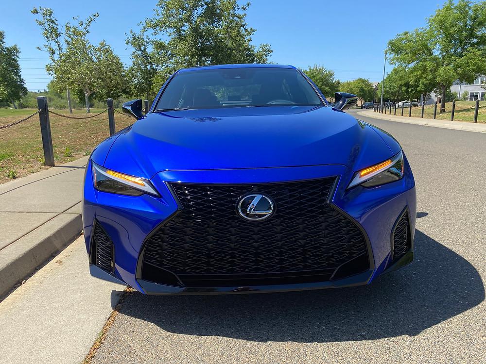 2021 Lexus IS 350 F SPORT front view