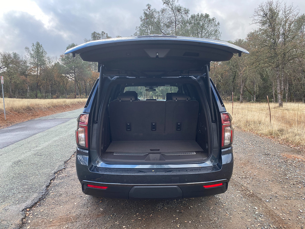 2021 Chevrolet Tahoe 4WD Z71 liftgate open