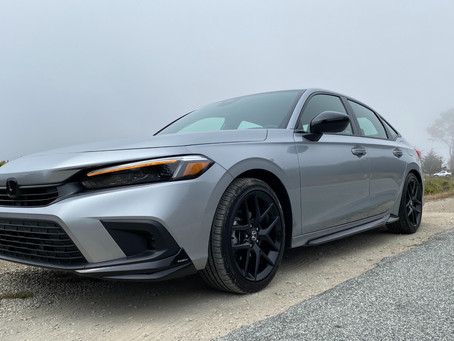30 Minutes With: The 2022 Honda Civic Sport