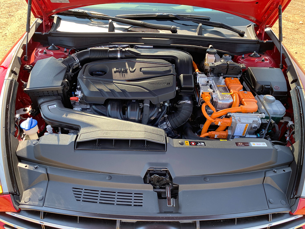 2020 Hyundai Sonata Hybrid Limited powerplant