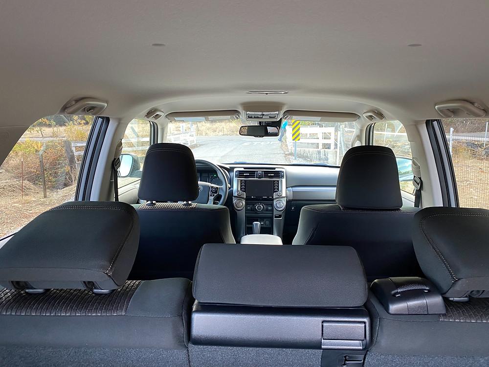 2021 Toyota 4Runner 4x4 Trail interior