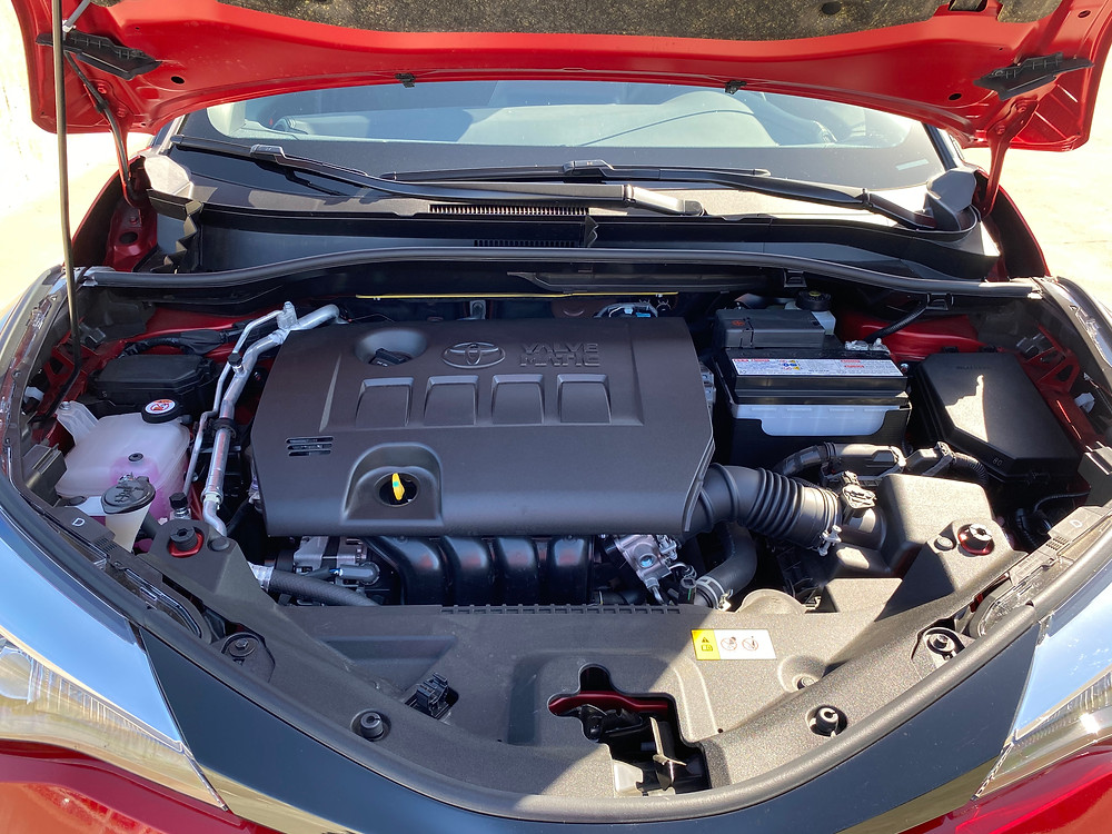 2021 Toyota C-HR Nightshade Edition engine