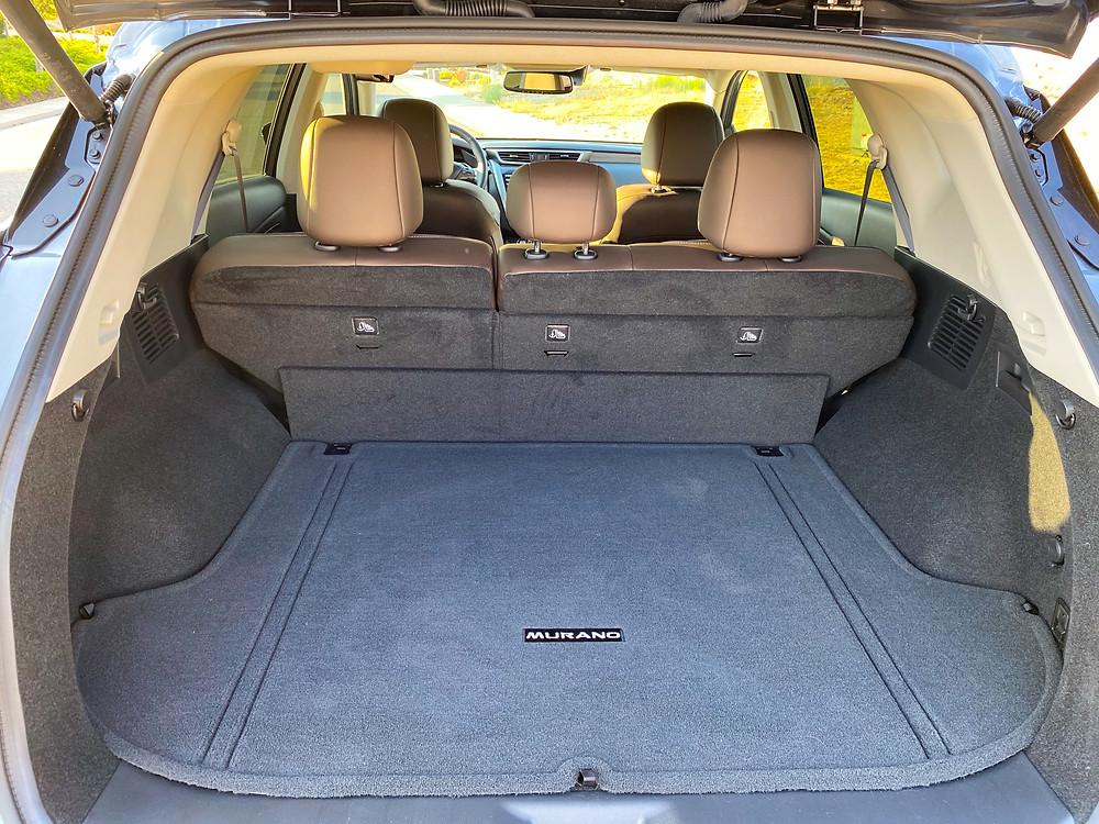 2020 Nissan Murano Platinum FWD cargo area
