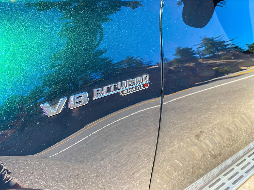 2021 Mercedes-AMG GLS 63 V8 Biturbo 4MATIC badge